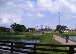 Parque das Águas em Sorocaba