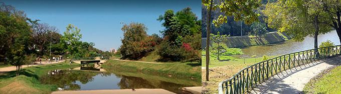 Parque Carlos Alberto de Souza em Sorocaba